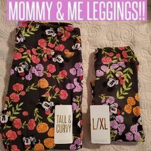 💕NIP MOMMY & ME DISNEY LULAROE LEGGING SET TC/LXL